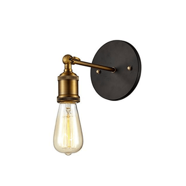 "Led Encastrable Exterieur Applique Vintage | Bronze ""cedra"" - Kosilum"