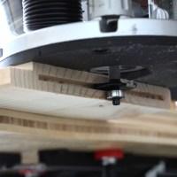 Holzverbindungen IV: Flachdübel und eine Oberfräse