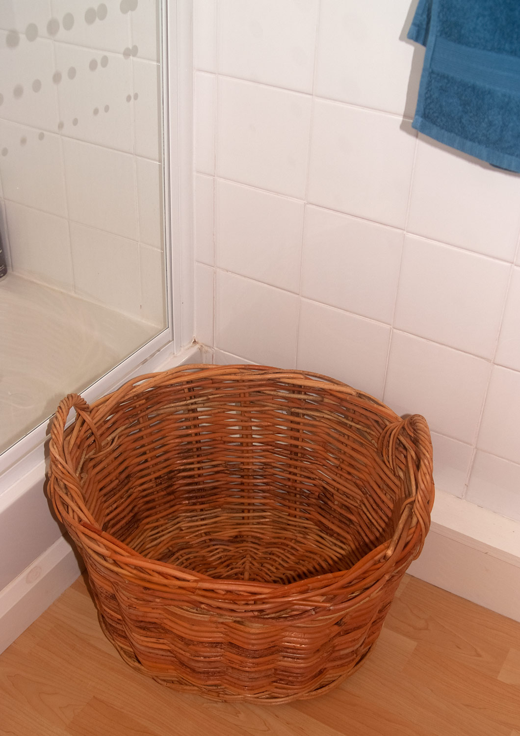 Clothes Baskets Small Rattan Washing Basket