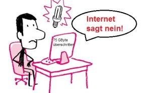 Telekom - Internet sagt nein!
