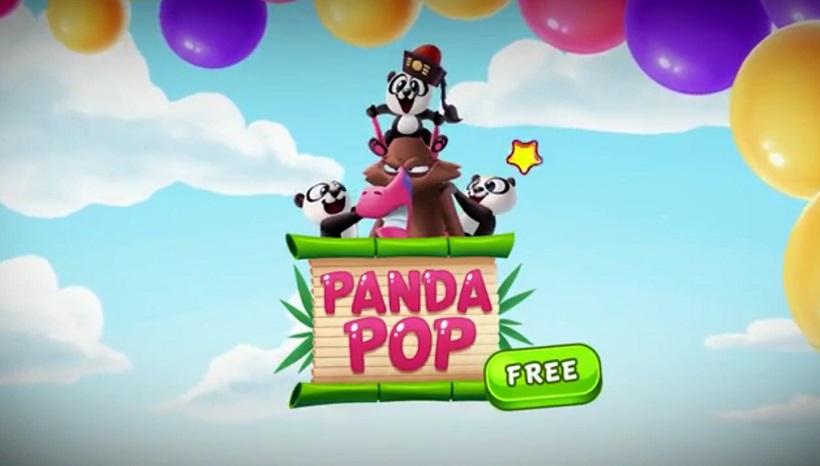 Rettet kleine Bären in Panda Pop