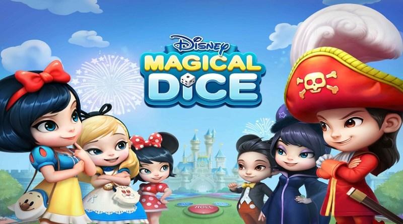 Disney Magical Dice