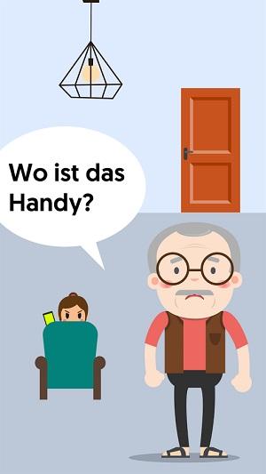 Alle Lösungen zu Opa wo ist das Handy?