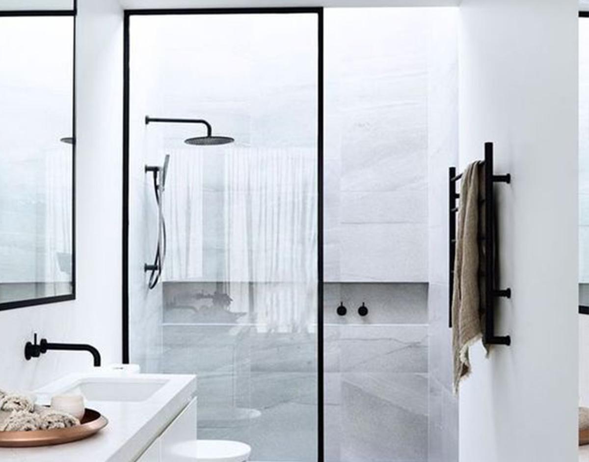Cuartos De Baño Sin Plato De Ducha | 40 Baños Pequeños Con Ducha Que ...
