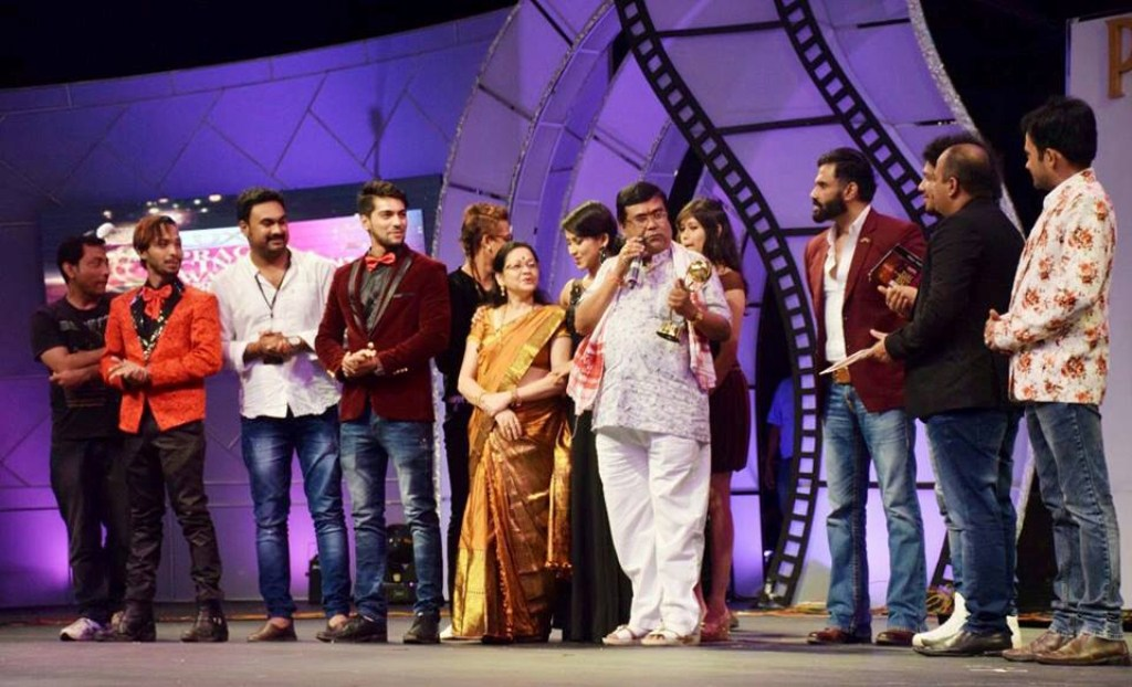 A view of the Prag Cine Awards North-East 2016