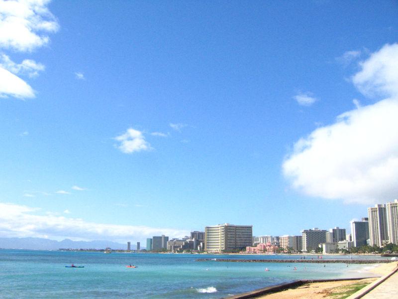 初めての子連れで海外旅行は、やっぱり・・・ハワイ!!