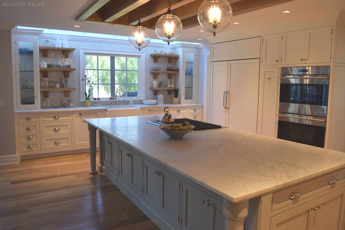 Painting Kitchen Cabinets Long Island Custom Painted Kitchen Cabinets In Old Saybrook Connecticut
