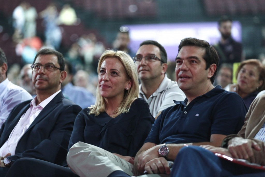 Third Day of the 2nd Conference of the SYRIZA ruling party, at the Tae Kwon Do Stadium, Faliro, Athens, on October 15, 2016 / Τρίτη μέρα του 2ου Συνεδρίου του κυβερνώντος κόμματος του ΣΥΡΙΖΑ, στο Στάδιο του Τάε Κβον Ντο, Αθήνα, στις 15 Οκτωβρίου, 2016