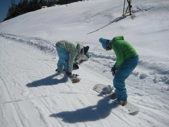 スノーボード スタンス