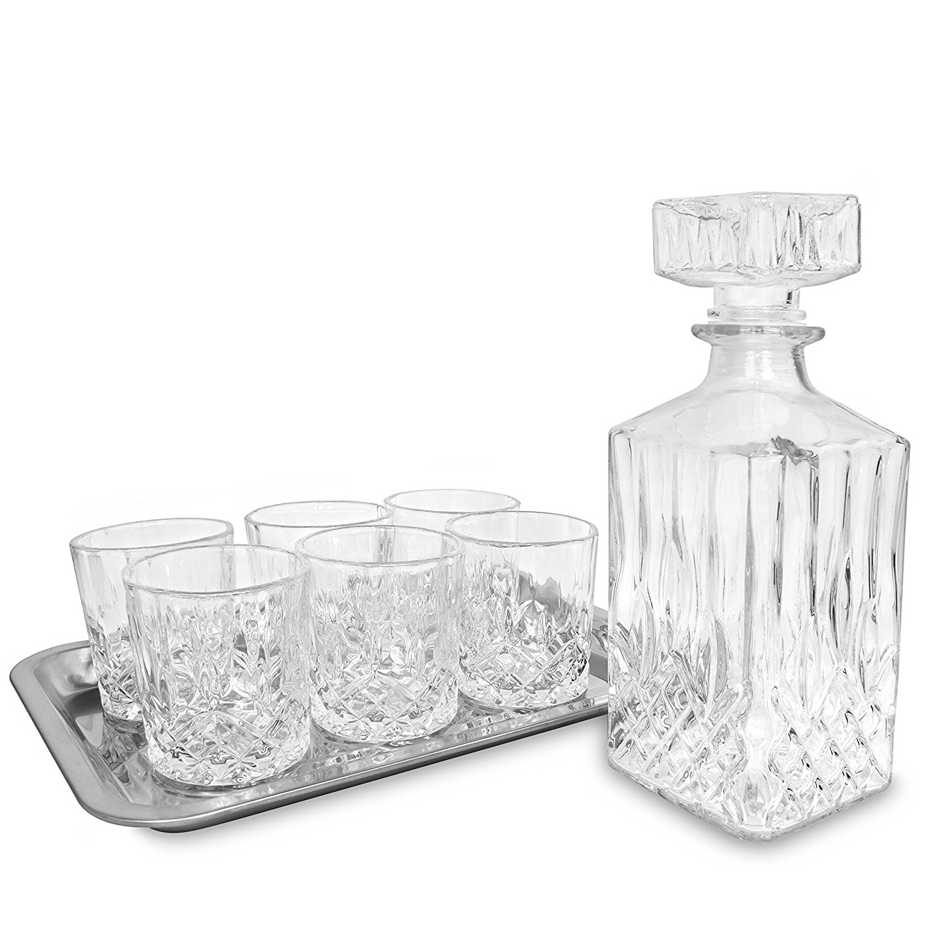 Whiskey Set 8 Piece Whiskey Bar Set