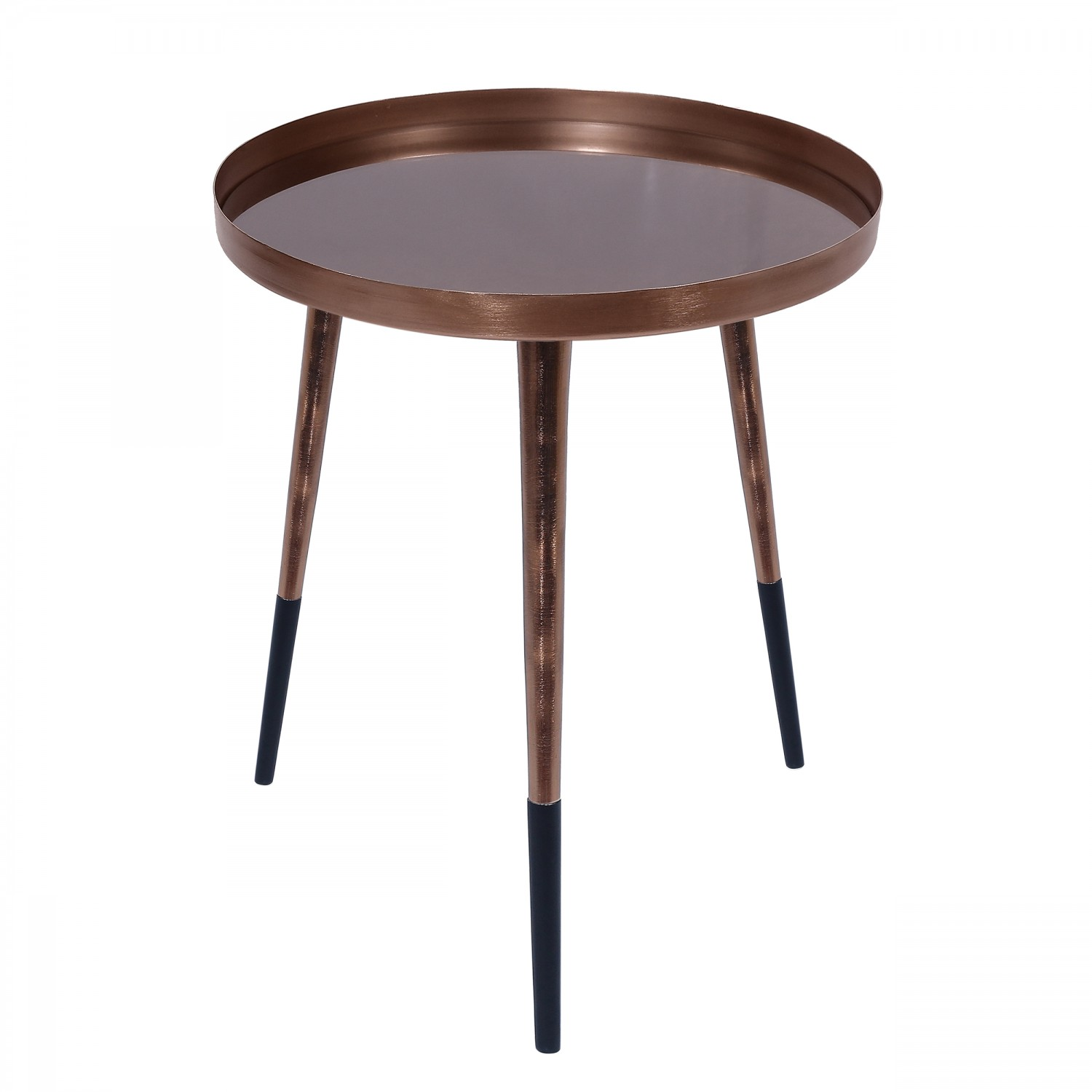 Table Basse Cuivre Table Basse Ronde Hovan Cuivre Koya Design