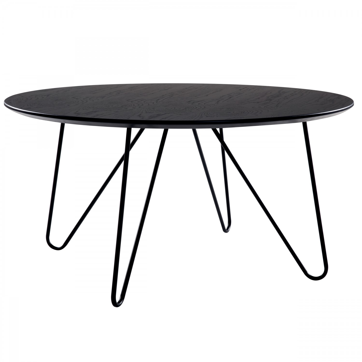 Tables Basses Rondes De Salon Table Basse Ronde Noire Vela Ø80 Cm Tables Basses Salon Koya