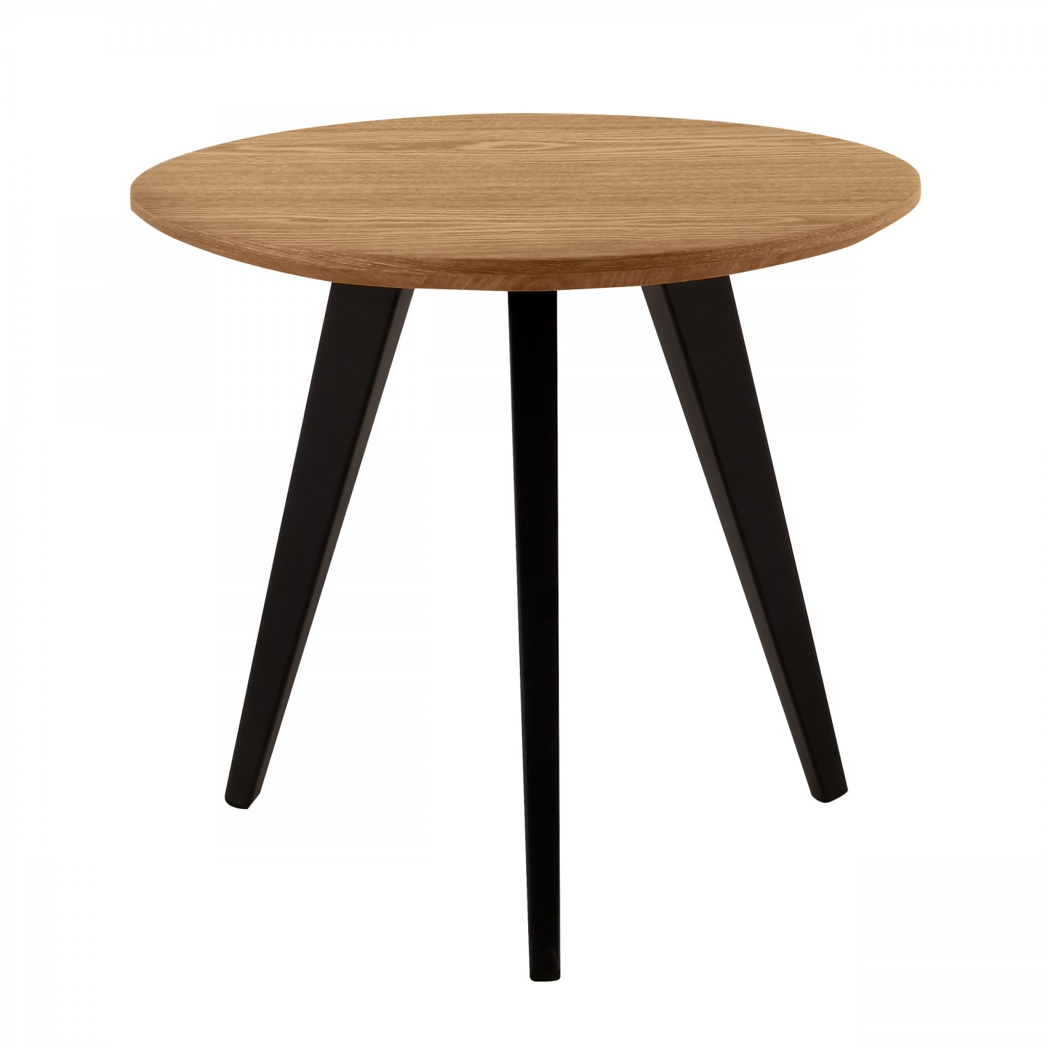 Table De Salon Bois Clair Table Basse Ronde 50 Cm Bois Clair Koya Design