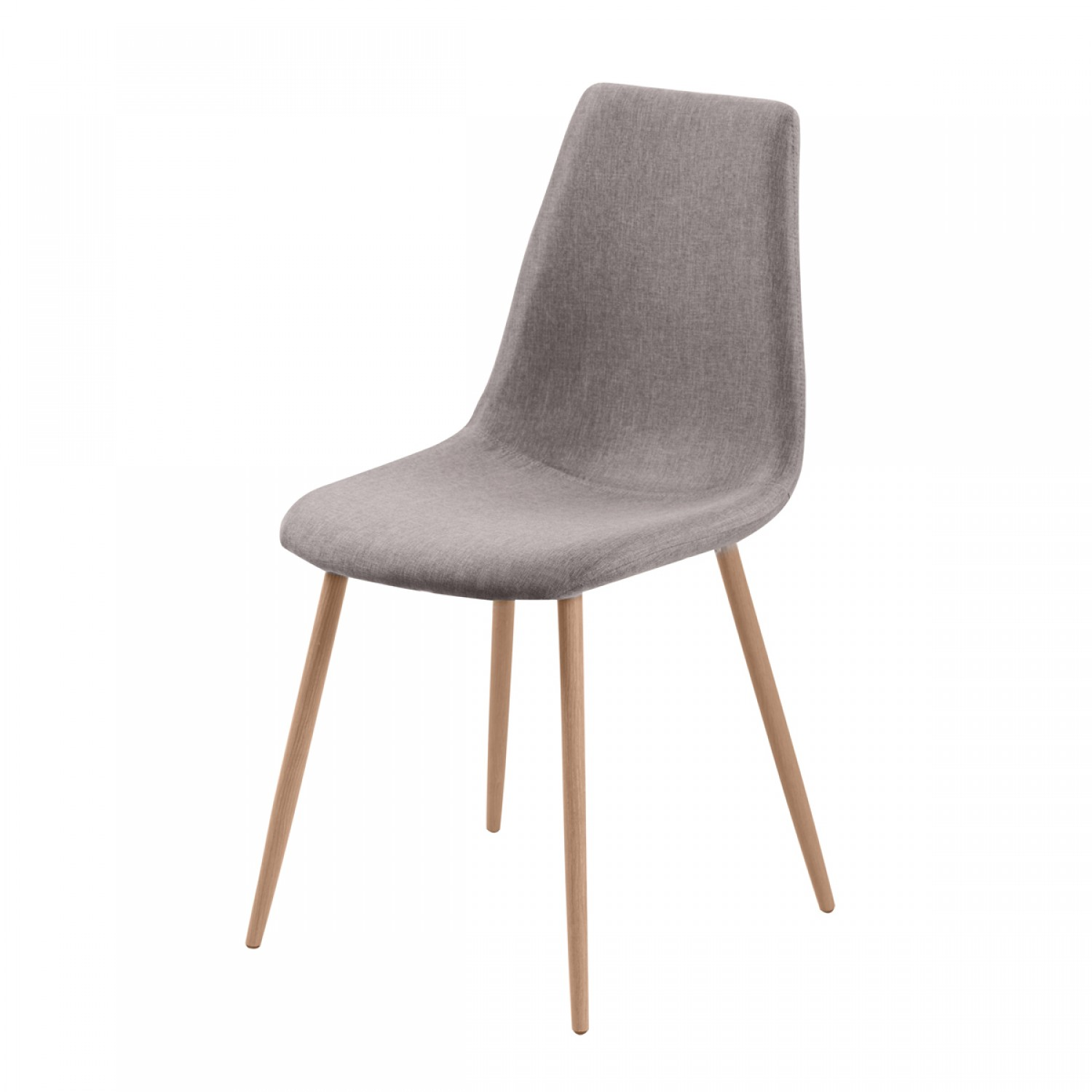 Chaise Taupe Chaise Paula Taupe Lot De 2 Koya Design