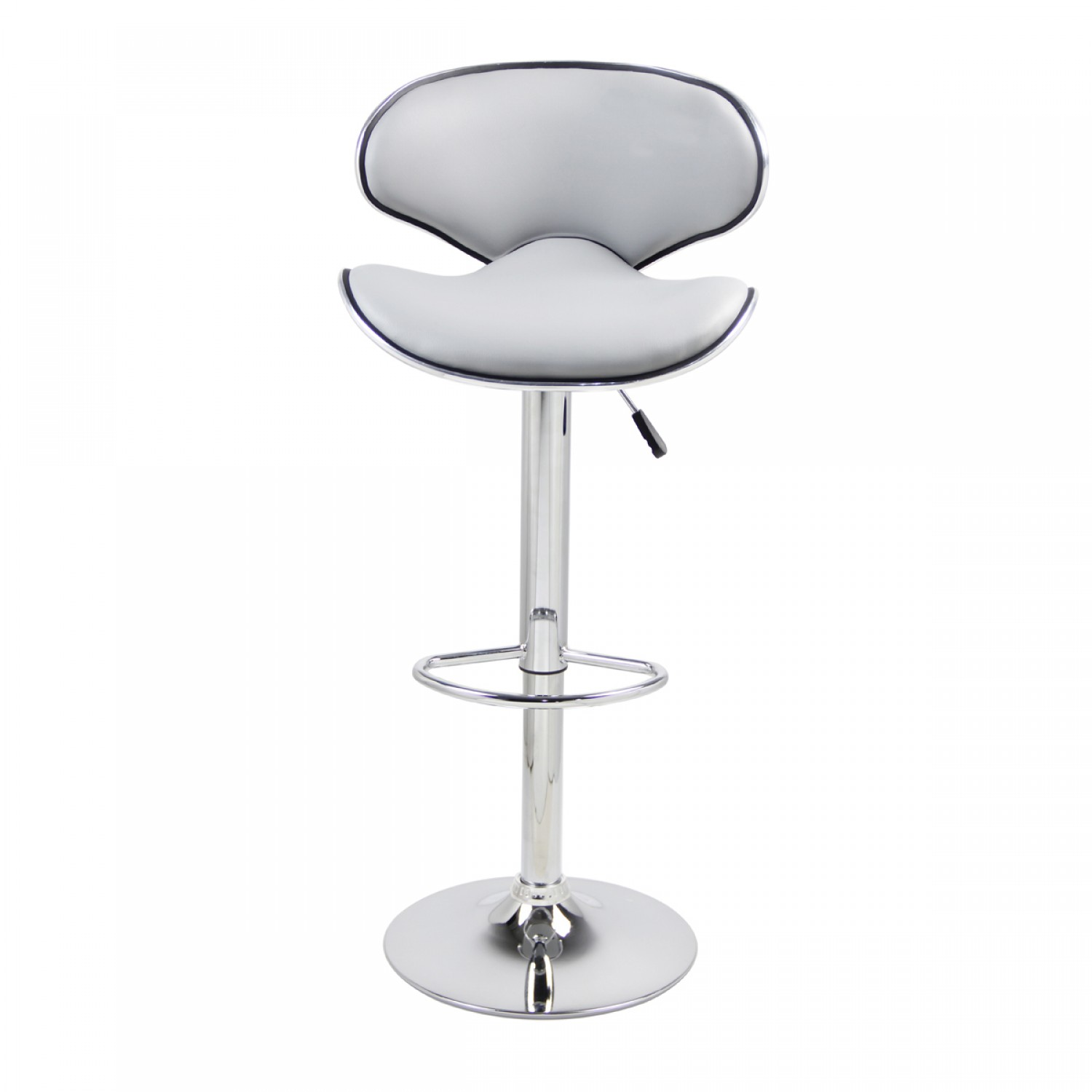 Charly Lot De 2 Tabourets De Bar Noirs Tabouret De Bar Gris Lot De 2 Tabourets De Bar Colorado Gris