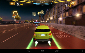 レース中の画面