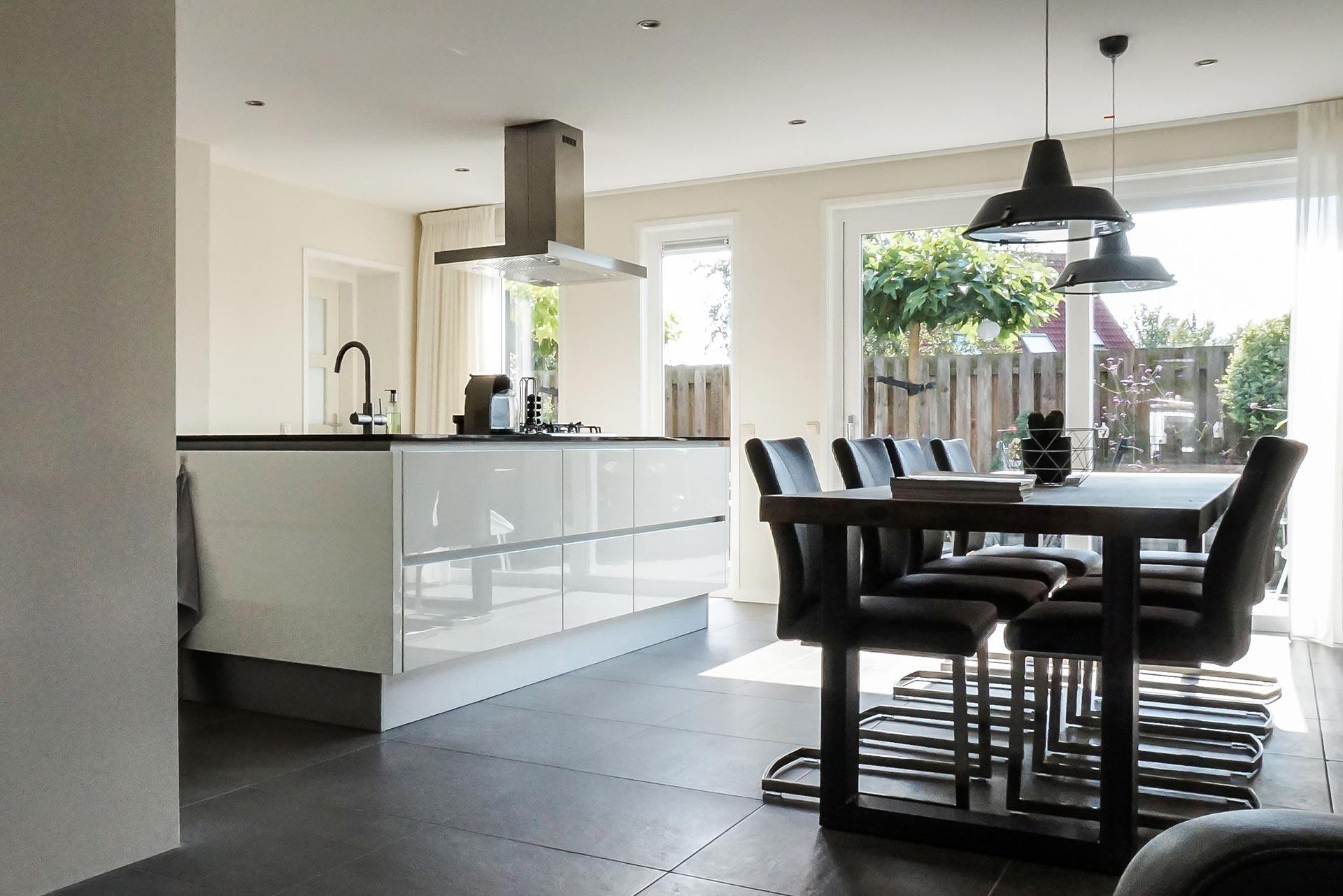 Bestaande Keuken Uitbreiden : Keuken renoveren en uitbreiden villa hilversum metaglas