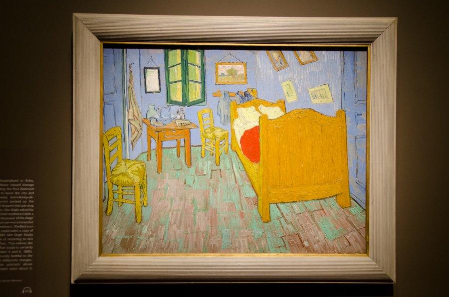 Van Gogh Bedrooms 03/05/16 - Description De La Chambre De Van Gogh