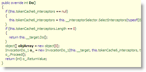 interceptorSelectorMethodInReflector