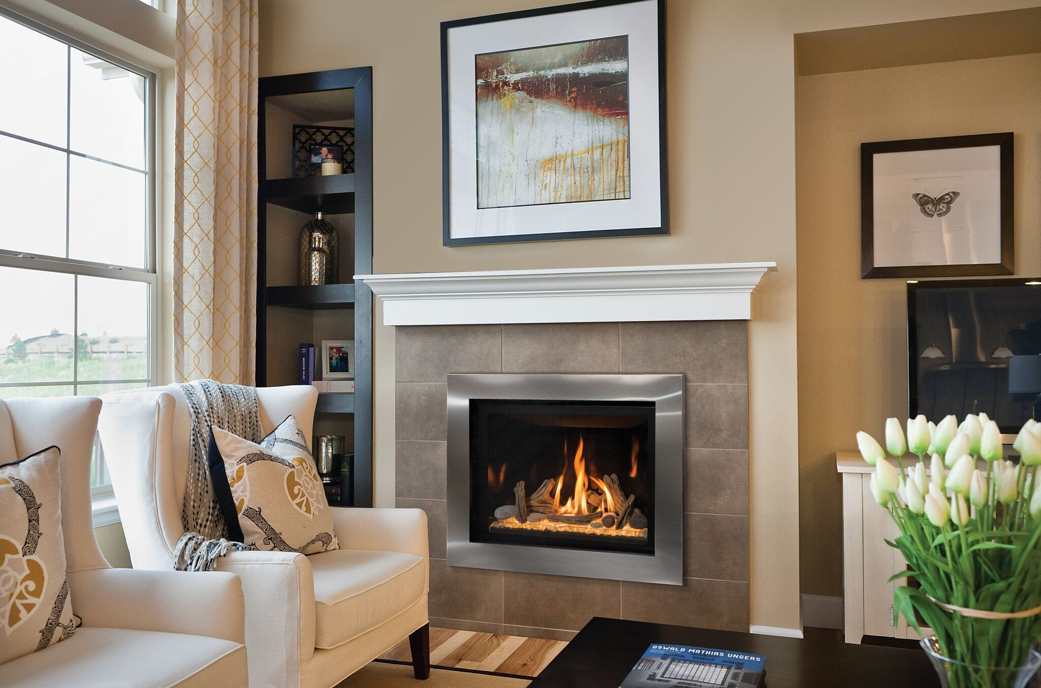 How To Operate A Fireplace How Does A Gas Fireplace Work