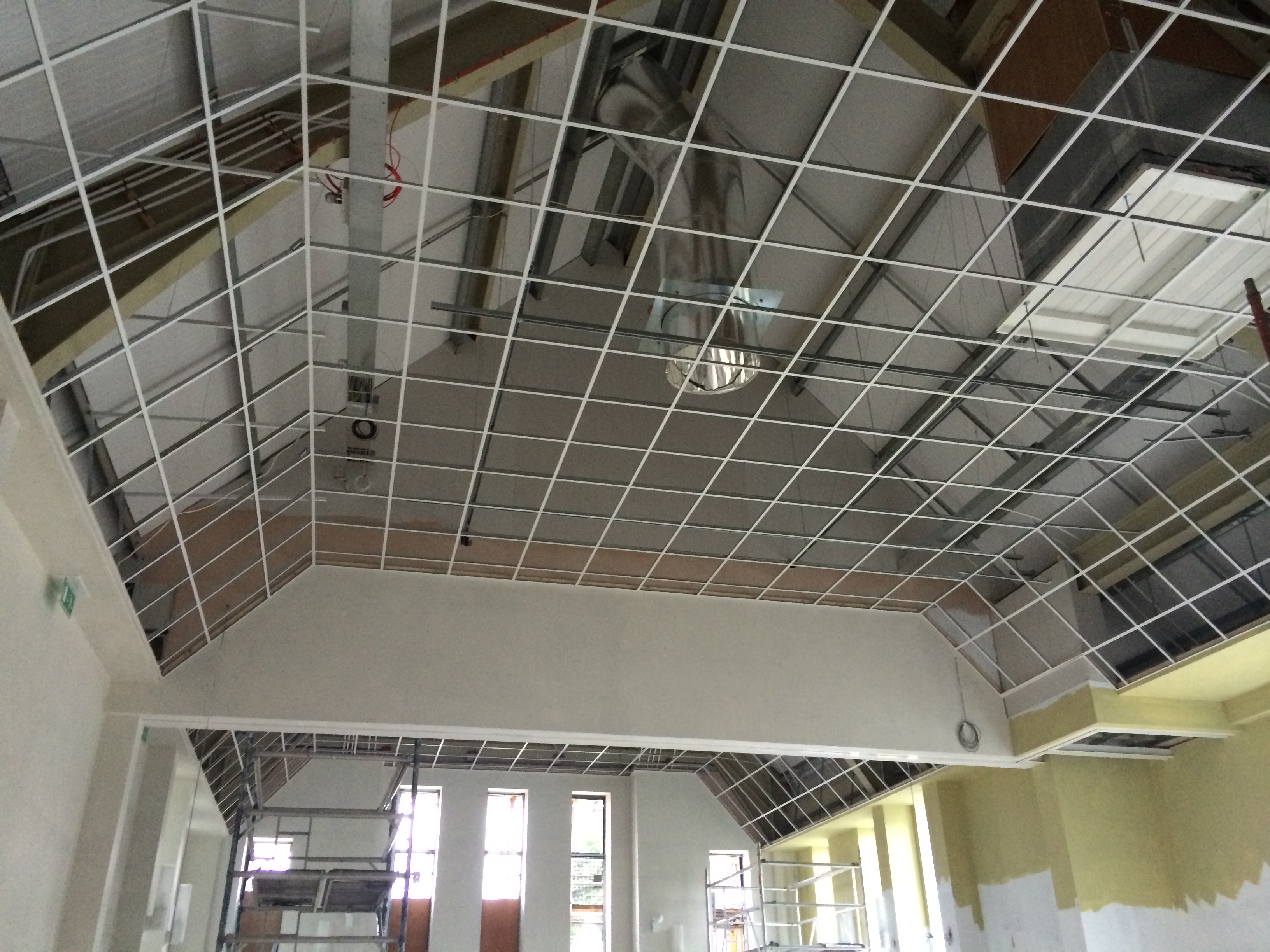 First Fix Suspended Ceiling