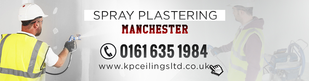 spray plaster Manchester header