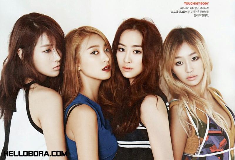 kpop girl band profile
