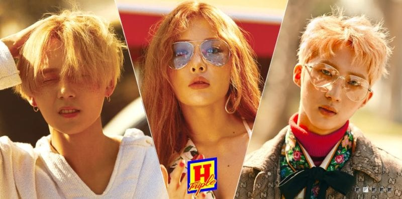 Girl And Boy Wallpaper Full Hd Triple H K Pop Group Members Profile Updated