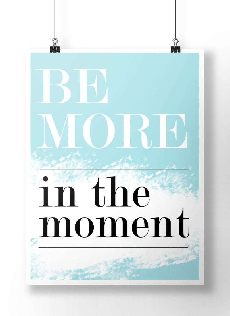 kraft&mint be more in the moment 2015 goal with tinyprints