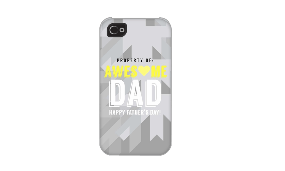 Make a cool iPhone Case for Father's Day