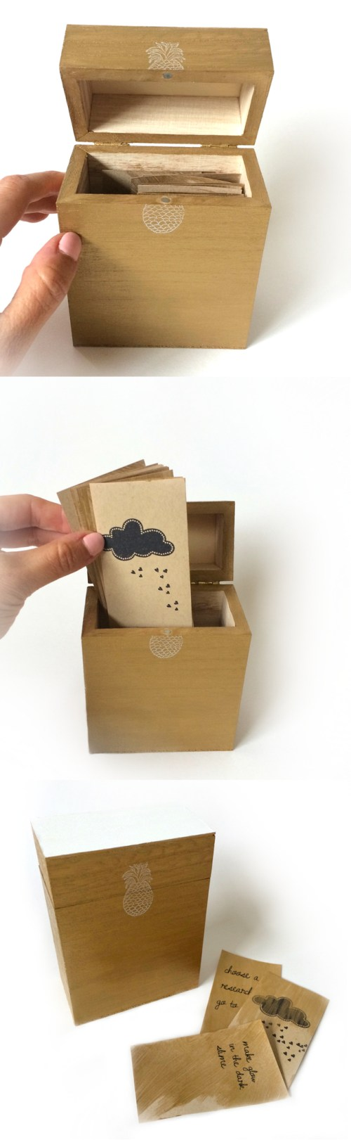 kraft&mint rainy day activities box