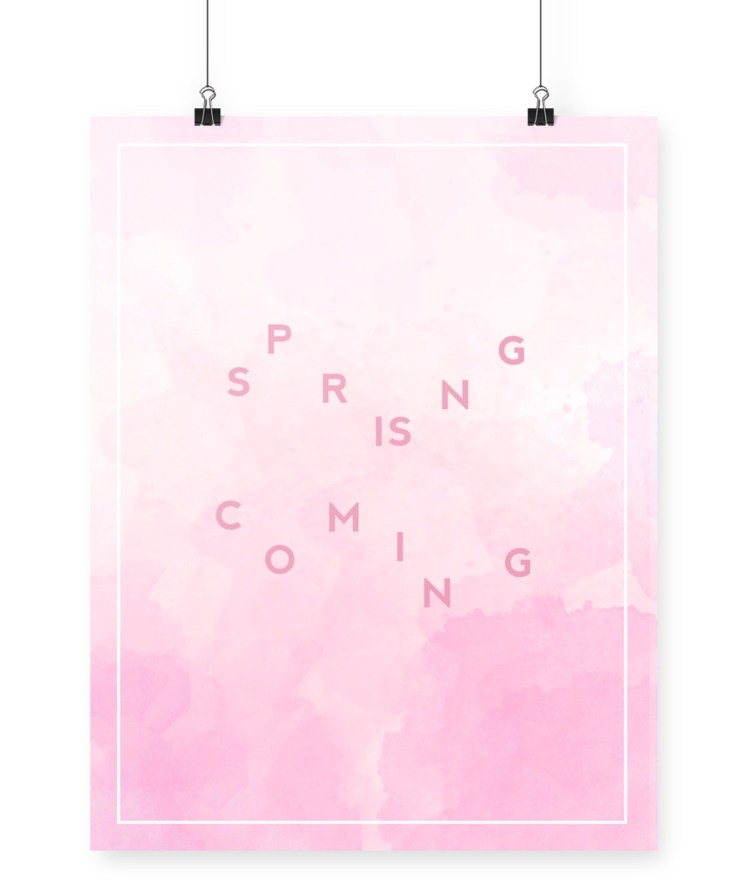 spring_iscoming_printable