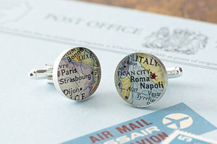 Darby Smart Map Cuff Linis