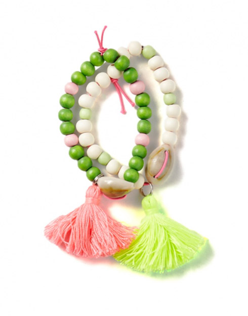 Everbloom Tassel Bracelet from Tea Collection