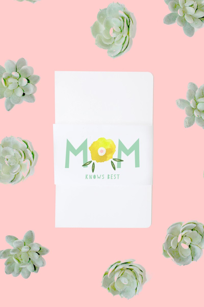 Moleskine Journals for Mother's Day + Printable
