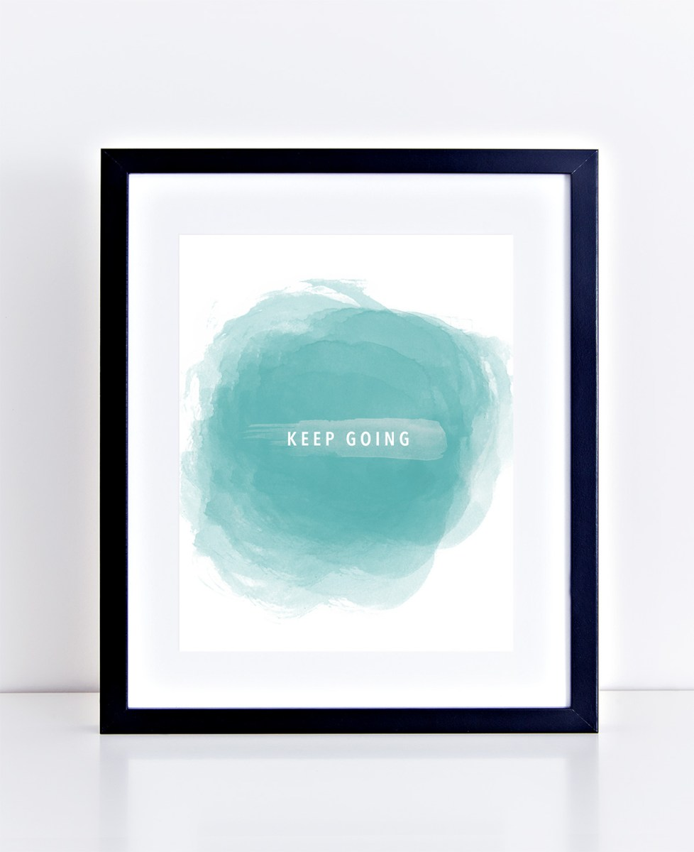 Keep Going 8x10 Printable by kraft&mint