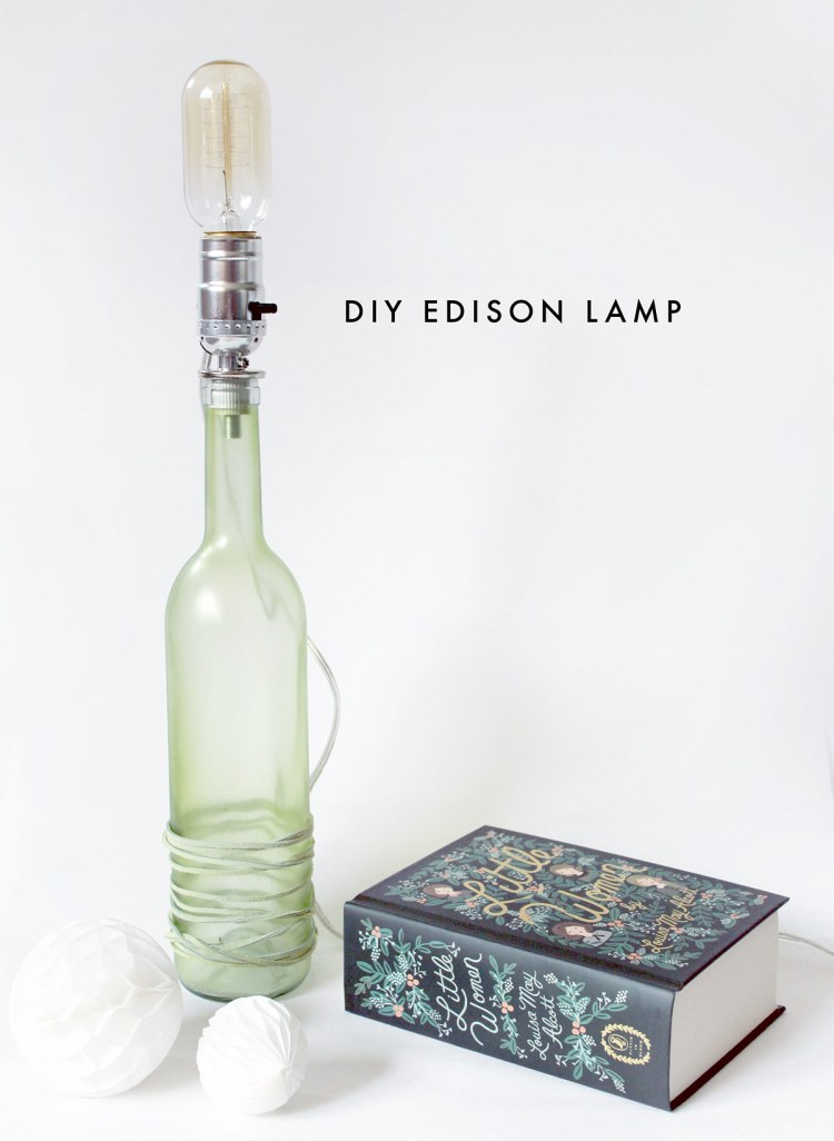 DIY Edison Lamp by kraft&mint