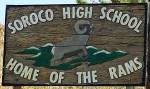 soroco-high-school-sign