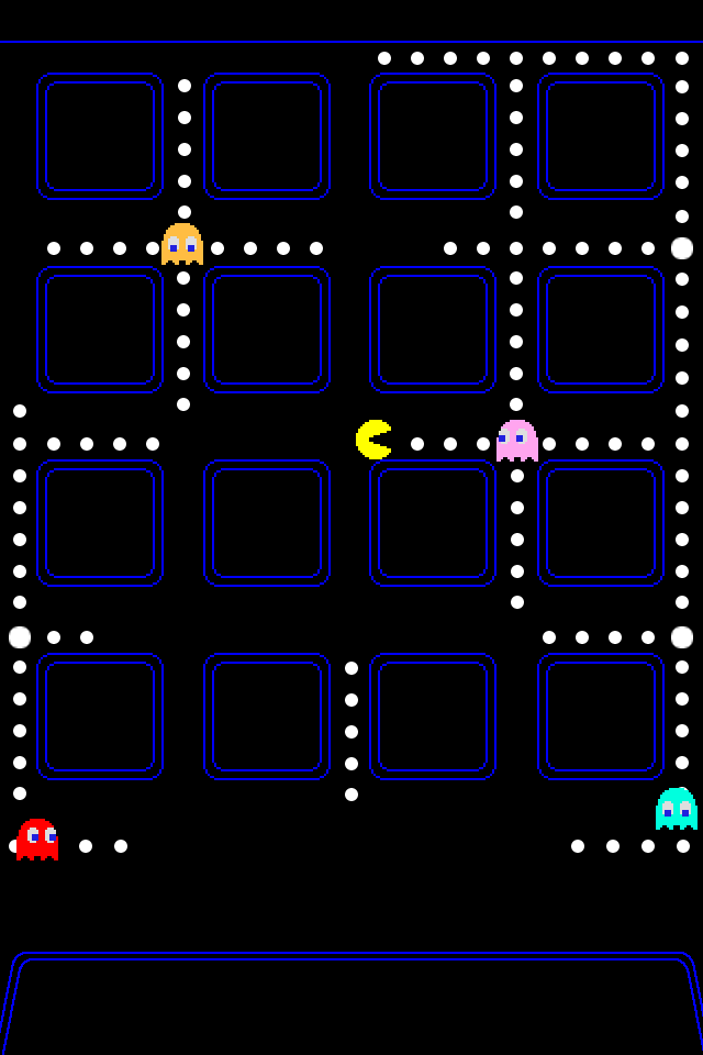 Gravity Falls Iphone 6 Wallpaper Ultimate Pac Man Iphone Ios 4 Wallpaper Collection 10