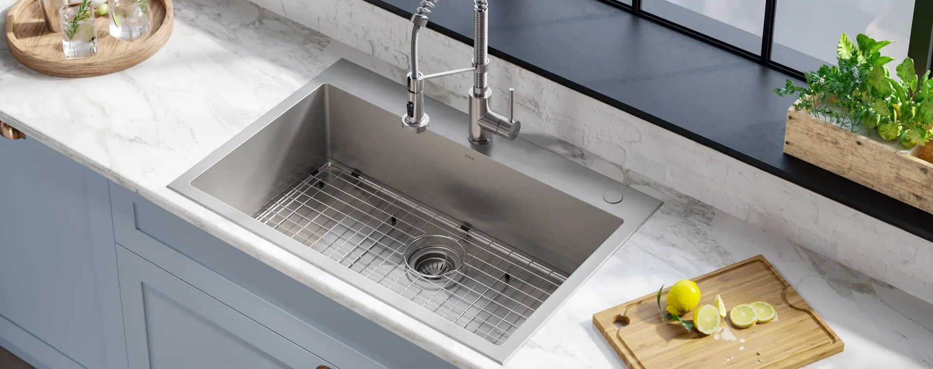 Kraus Kitchen Sinks Selection Of Style Function Materials