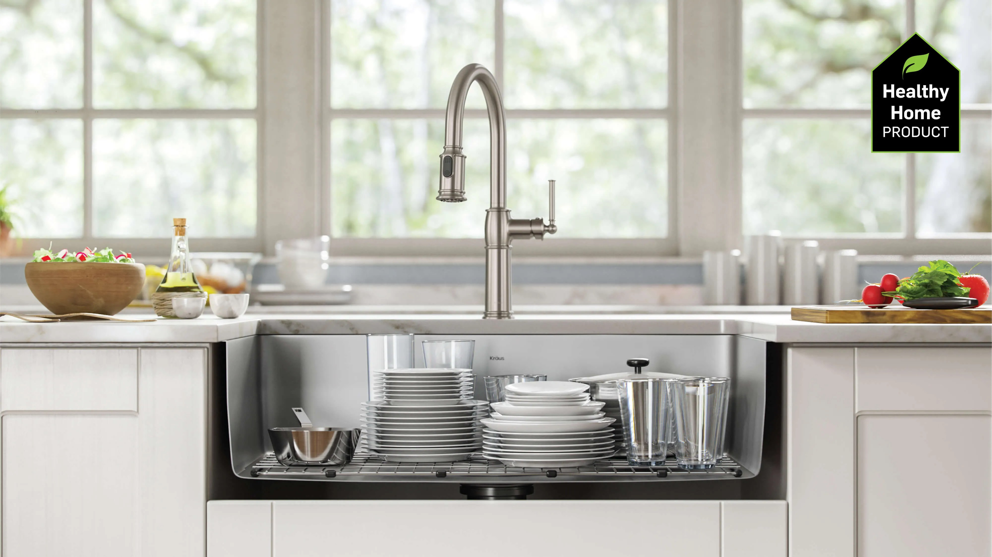 Kraus Trend Report Kitchen Sinks For A Healthy Home