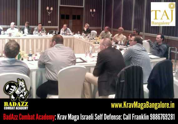 Franklin Joseph: Corporate Wellness Israeli Krav Maga Self Defense Work shop