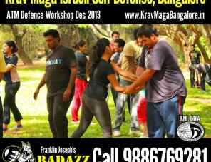 Outdoor Special Tactical BadAzz Krav Maga Self Defense session
