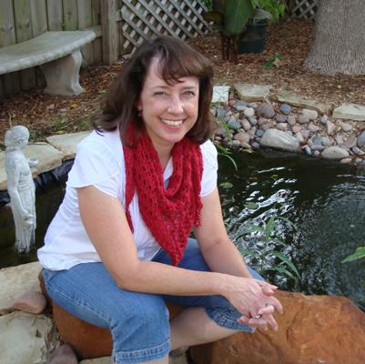 blogathon lace triangle scarf knit pattern