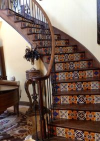 The Best Mexican Tile Stairs For Your Spanish Style Dcor