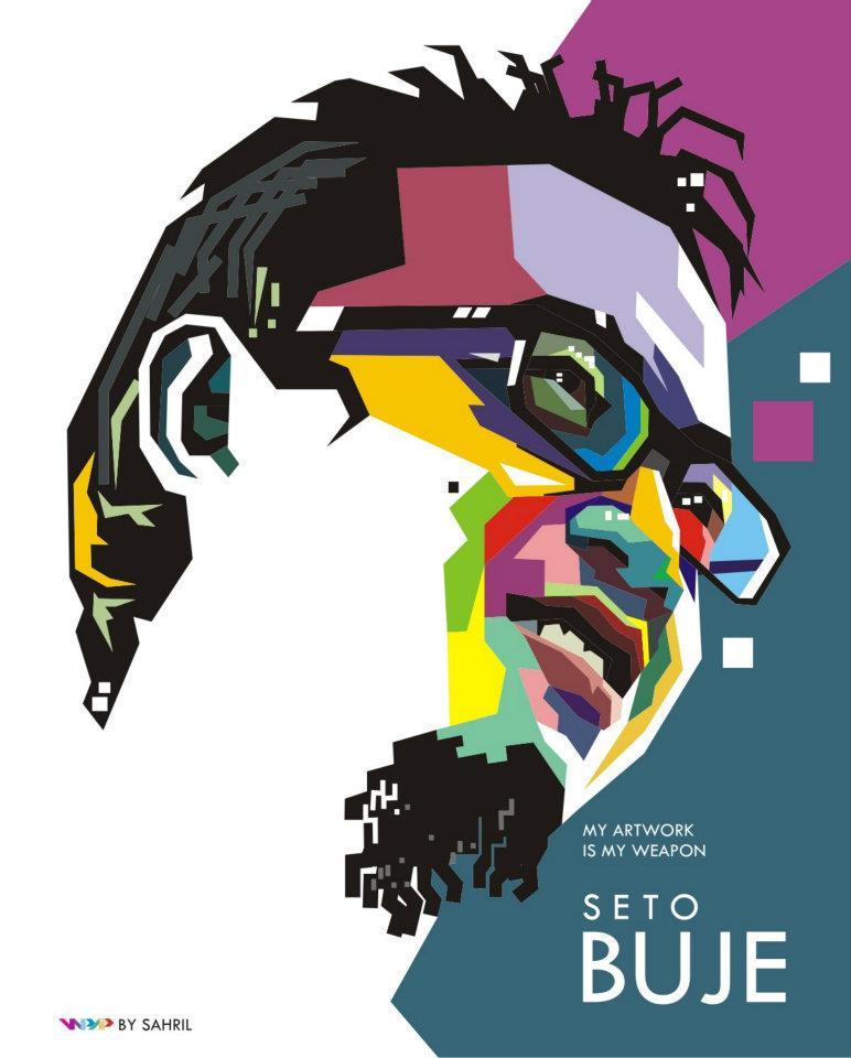 Seto Buje, Ilustrator Si Bedil