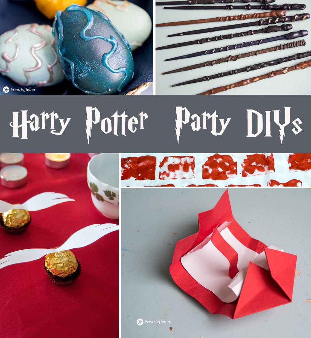 Basteln Ideen Harry Potter Party Ideen