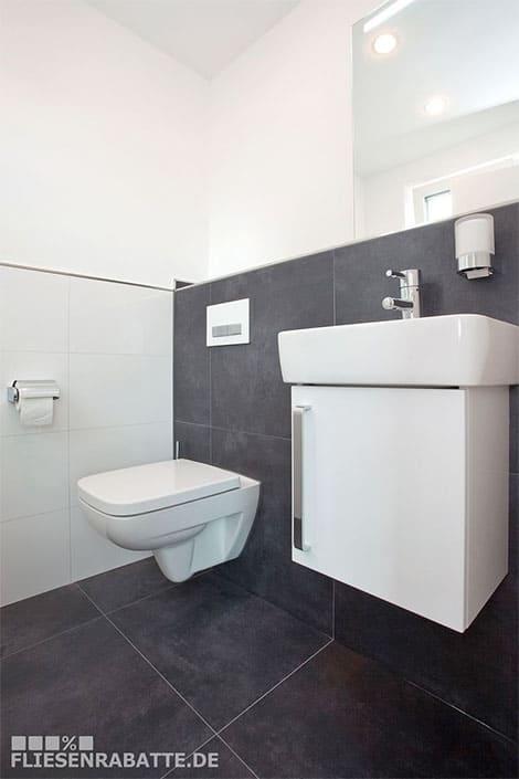 Badezimmer modern gestalten mit Trend-Fliesen kreativLISTE - badezimmer modern gestalten