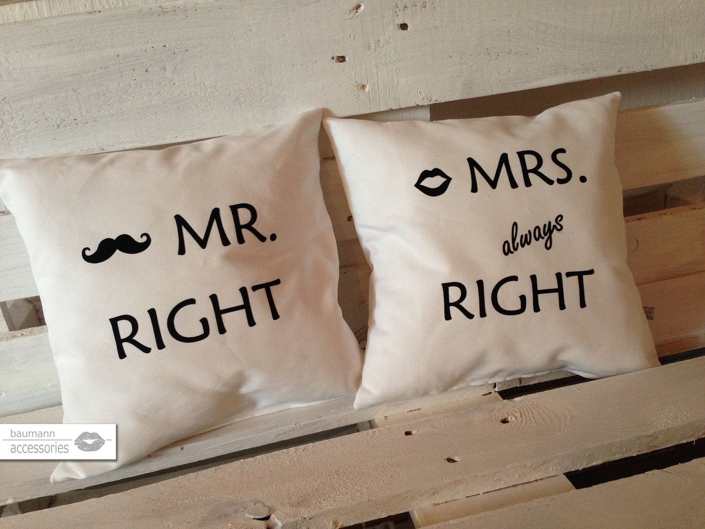 Mr Und Mrs Right Bettwäsche Mr Right And Mrs Right Kreativmanufaktur Bayern