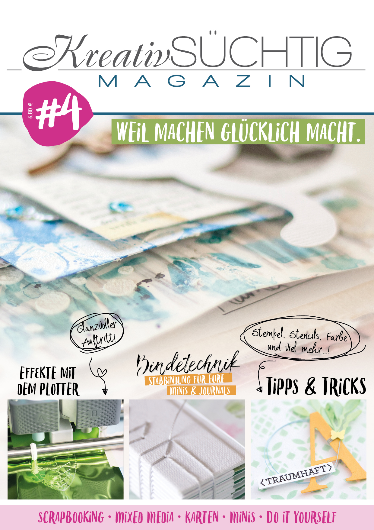 Do It Yourself Zeitschrift Magazin Kreativsüchtig De
